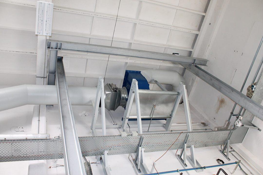 Unterkonstruktion Rohrleitungssystem – Treuen