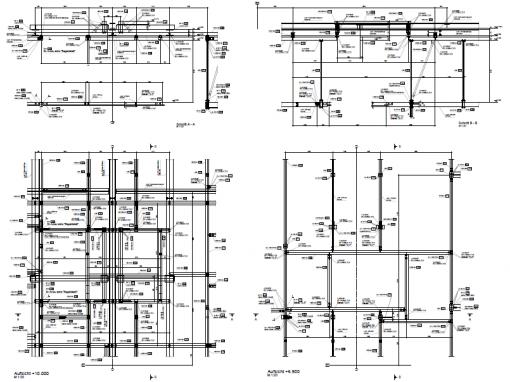 Unterkonstruktion für Förder- und Anlagentechnik – Zwickau